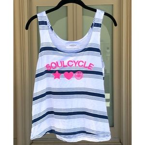 Soulcycle Workout Striped Tank Top sz XS